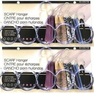 2 Scarf Hangers